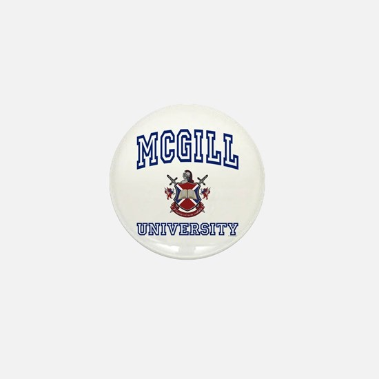 MCGILL University Mini Button