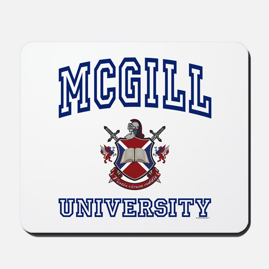 MCGILL University Mousepad