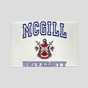 MCGILL University Rectangle Magnet