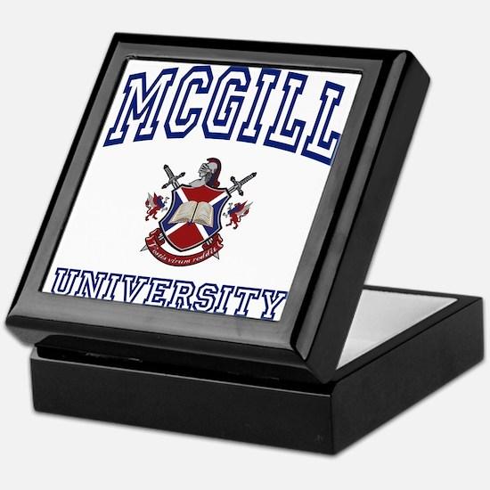 MCGILL University Keepsake Box