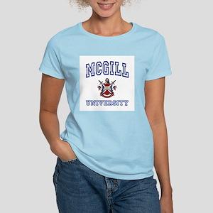 MCGILL University Women's Pink T-Shirt