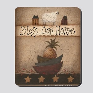 BLESS OUR HOME (2) Mousepad