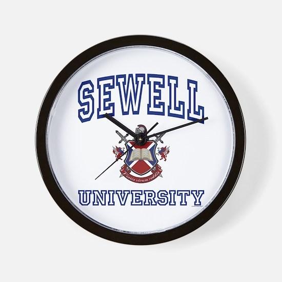SEWELL University Wall Clock