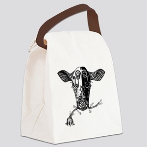 cowbw Canvas Lunch Bag