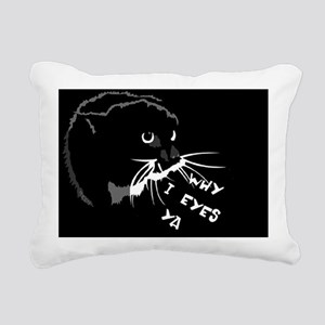 momcat3-14x6 Rectangular Canvas Pillow