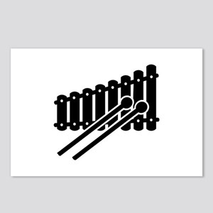 Black Xylophone Postcards (Package of 8)