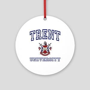 TRENT University Ornament (Round)