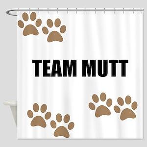 Team Mutt Shower Curtain