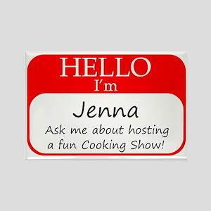 Jenna Rectangle Magnet