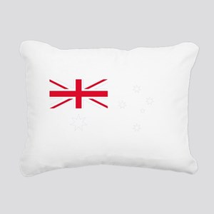 AU_Blue Rectangular Canvas Pillow
