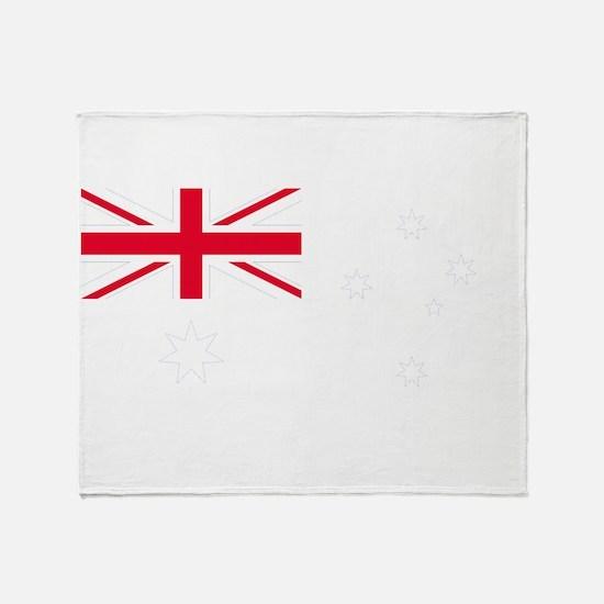 AU_Blue Throw Blanket