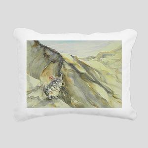 Patience in sunlight adj Rectangular Canvas Pillow