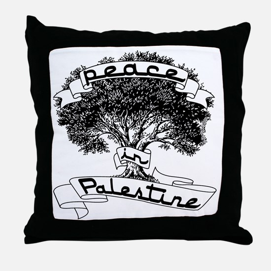 peace_in_palestine_t_shirt Throw Pillow