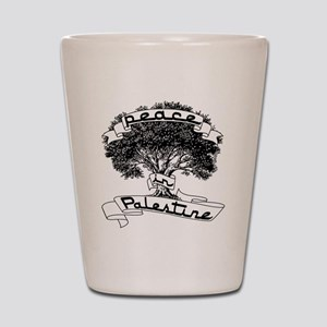peace_in_palestine_t_shirt Shot Glass