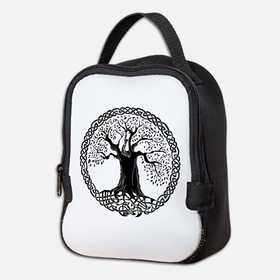 Celtic Tree I.V. Neoprene Lunch Bag