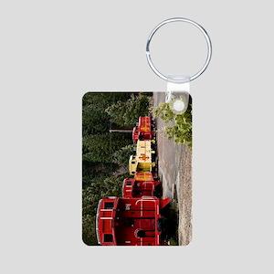 (9) caboose line Aluminum Photo Keychain