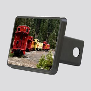 (11) caboose line Rectangular Hitch Cover