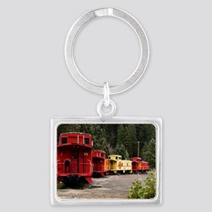 (11) caboose line Landscape Keychain