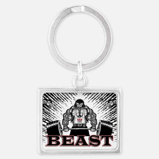 The Beast Poster Landscape Keychain