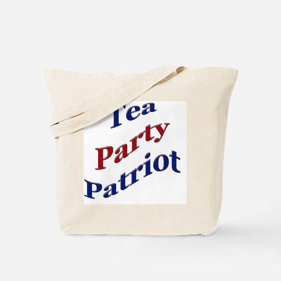 teapartypatriotwave Tote Bag