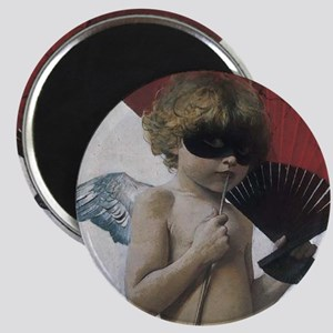 boy with arrow and fan Magnet
