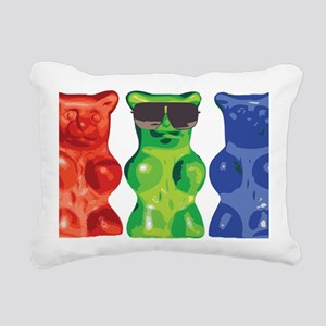 2-gummi Rectangular Canvas Pillow