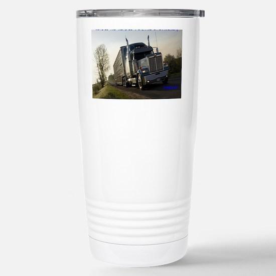 2-BULLHAULER Stainless Steel Travel Mug