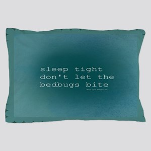 Bedbug Blue Pillow Case