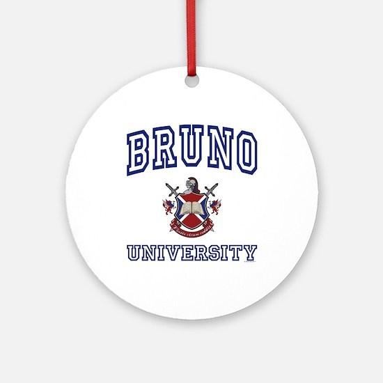 BRUNO University Ornament (Round)