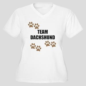 Team Dachshund Plus Size T-Shirt