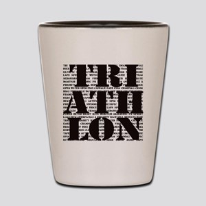 Triathlon1 Shot Glass