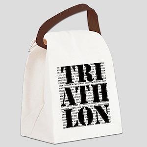 Triathlon1 Canvas Lunch Bag