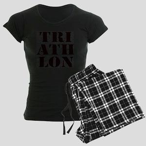 Triathlon1 Women's Dark Pajamas