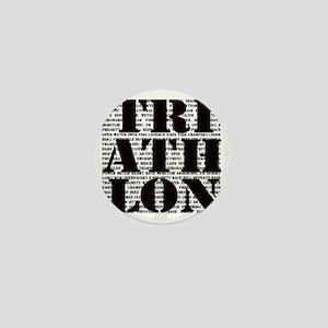 Triathlon1 Mini Button