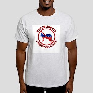 Just Say No Ash Grey T-Shirt