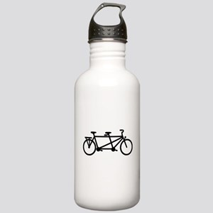 Tandem Bicycle Stainless Water Bottle 1.0L