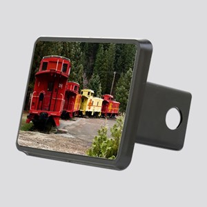 (12) caboose line Rectangular Hitch Cover