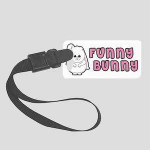 funnybunnyname Small Luggage Tag