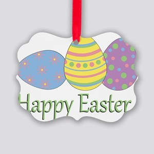happyeaster Picture Ornament