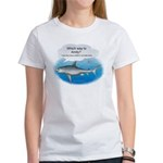 Amity Buffet Shark Women's T-Shirt