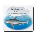 Amity Buffet Shark Mousepad