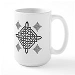 Celtic Diamond Large Mug