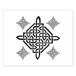 Celtic Diamond Small Poster