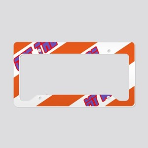 Get the hell out of my way! License Plate Holder