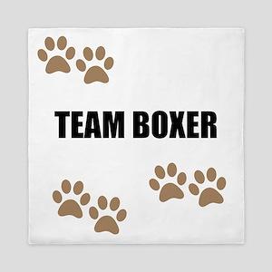 Team Boxer Queen Duvet