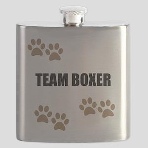 Team Boxer Flask
