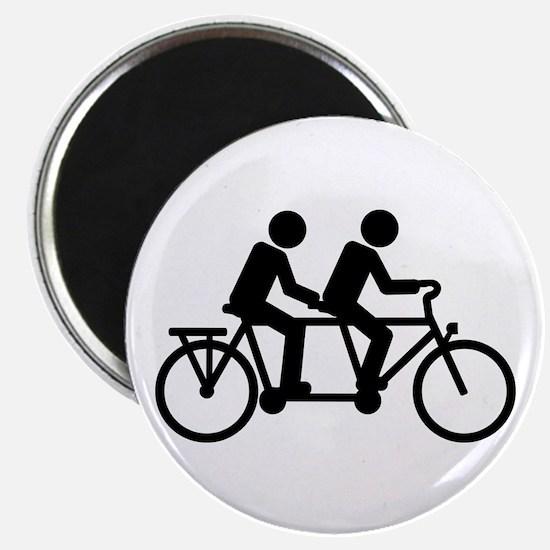 Tandem Bicycle bike Magnet