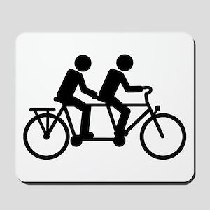 Tandem Bicycle bike Mousepad