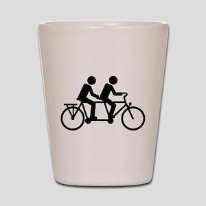 Tandem Bicycle bike Shot Glass