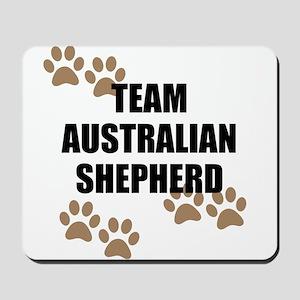 Team Australian Shepherd Mousepad